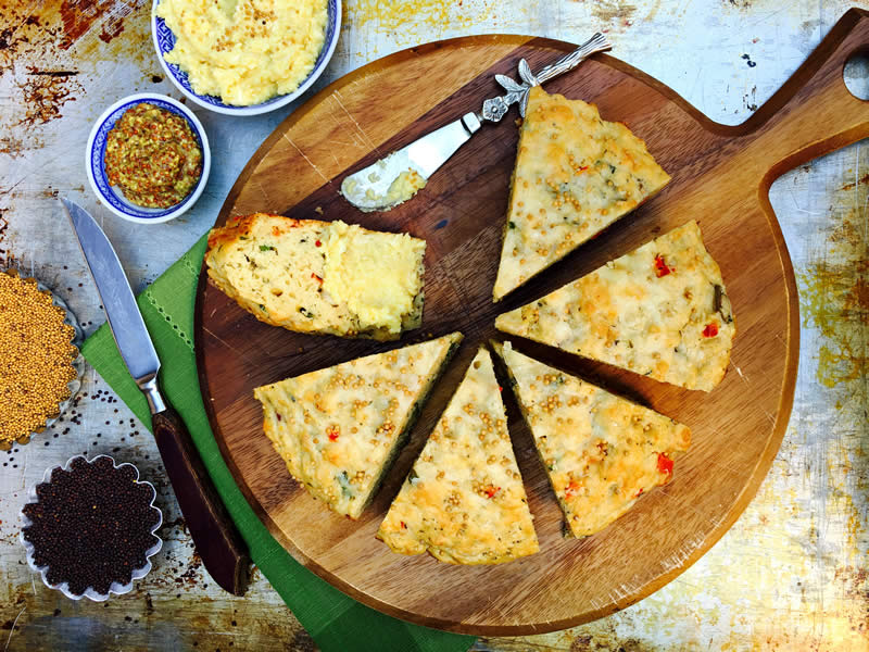 Artisan Cheese and Herb Bread