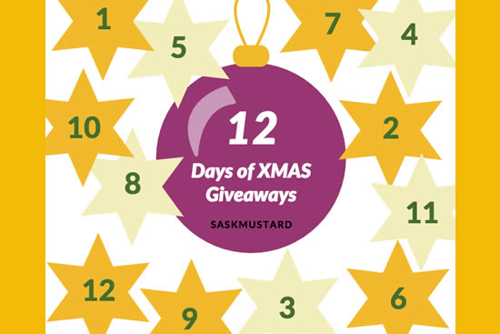The 12 Days of Xmas Giveaways