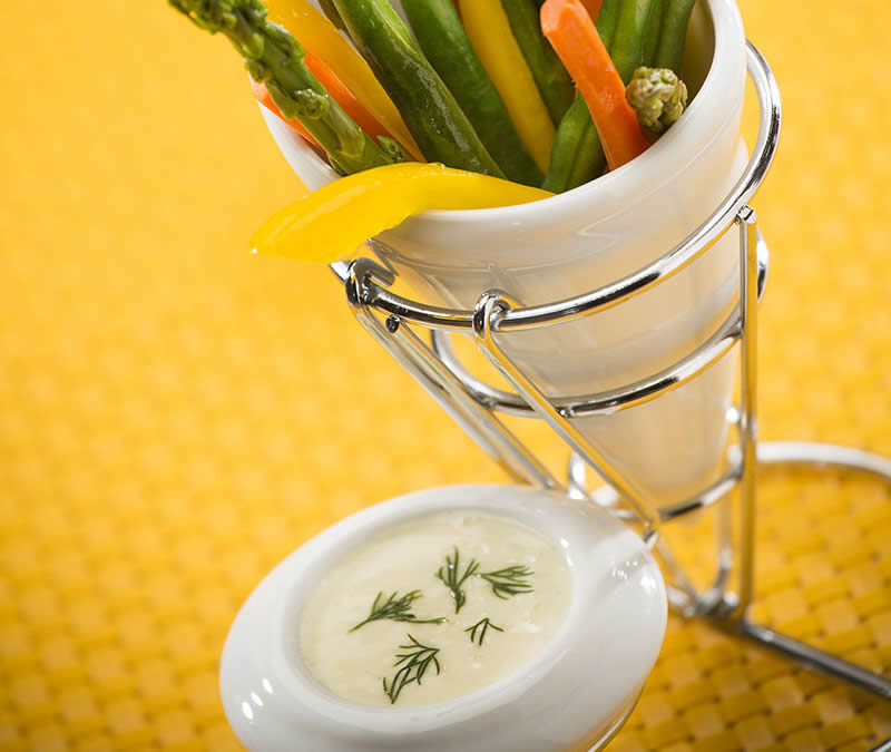 Everyone's Favourite Honey Dill Mustard Dip
