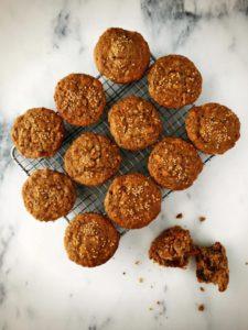 Multigrain Carrot, Date & Mustard Muffins - Photo by Renee Kohlman