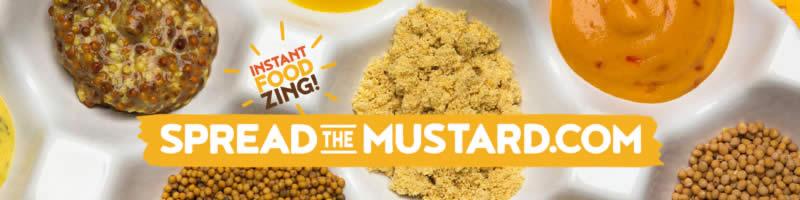 Spread Joy this holiday season, Spread Mustard